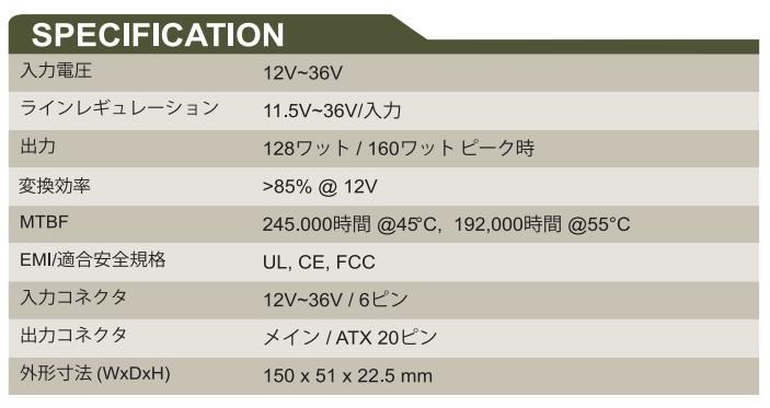 GADIWA-3160 spec