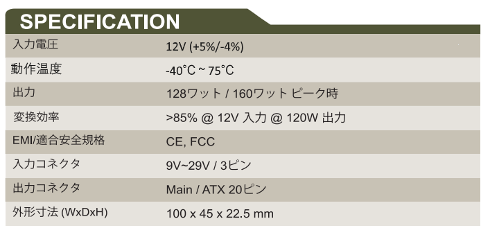 GADIWA-B1120 Spec