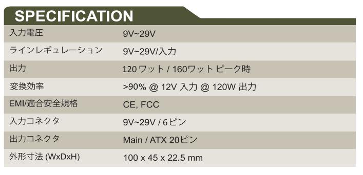 GADIWA-B9120 spec
